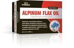 Alpinum Flax Oil-Студено пресовано ленено масло.