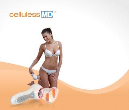 Целулес МД оборудван за първи път със светлина и масажни ролери