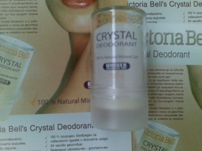 Victoria Bell's Crystal Deodorant